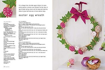 Crocheted Wreaths and Garlands - image 51YyzCfagkL-400x268 on https://knitting-crocheting-yarn.com