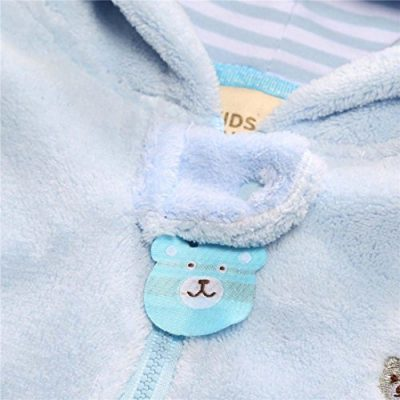 Baby Bear Style Bag Zipper Suitcase Jersey Autumn Winter Newborn Infant Boy Girl Hoodie Jumpsuit Romper Clothes Gray - image 51a5g+F-eqL-400x400 on https://knitting-crocheting-yarn.com