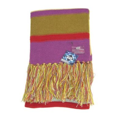 Doctor Who Scarf - Official BBC Doctor Who Scarf - Fourth Doctor Scarf Full Size by Lovarzi - image 51fcnDFX1fL-400x400 on https://knitting-crocheting-yarn.com