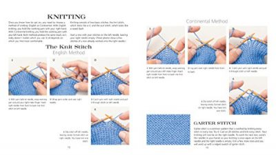 60 Quick Knits for Beginners:'Easy Projects for New Knitters in 220 Superwash® from Cascade Yarns®'(60 Quick Knits Collection) - image 51k1HX-76zL-400x225 on https://knitting-crocheting-yarn.com