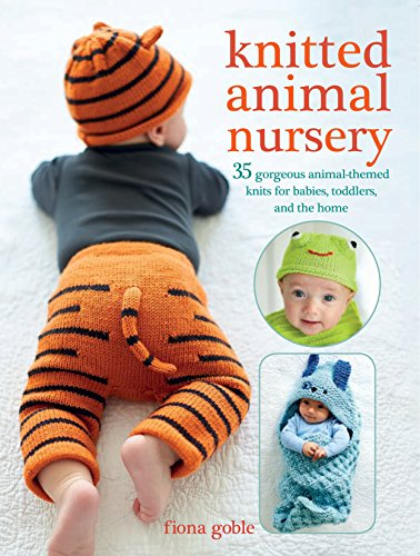 Knitted Animal Nursery: 35 gorgeous animal-themed knits for babies, toddlers, and the home - image 51mqfeQhU1L on https://knitting-crocheting-yarn.com
