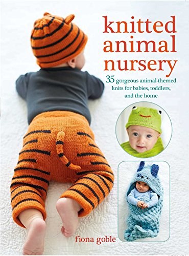 Knitted Animal Nursery: 35 gorgeous animal-themed knits for babies, toddlers, and the home - image 51pr63SLSjL on https://knitting-crocheting-yarn.com