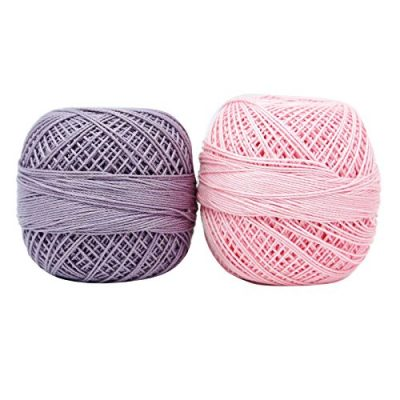 Indianbeautifulart Set Of 10 Pcs Cotton Crochet Spun Skein Yarn Thread Ball Knitting Embroidery - image 51wJaaqapYL-400x400 on https://knitting-crocheting-yarn.com