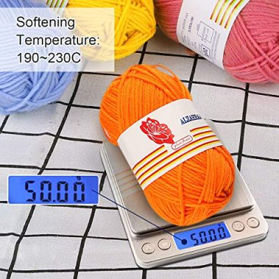 12PCS Knitting Yarn, Fixget 12x50g Super Soft Acrylic Yarn Skeins Set, Assorted Colors Crochet & Knitting Craft Yarn Kit, Bulk Yarn Crochet Kit,Bonus with 2 Crochet Hooks (1200M) - image 613LLQg9FqL-400x400 on https://knitting-crocheting-yarn.com
