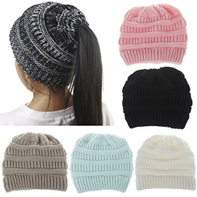 Girls Hats, SHOBDW Baby Fashion Knitted Wool Hemming Solid Warm Winter Autumn Hats Children Gifts Cap - image 61FeFe+xSYL-400x400 on https://knitting-crocheting-yarn.com
