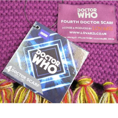 Doctor Who Scarf - Official BBC Doctor Who Scarf - Fourth Doctor Scarf Full Size by Lovarzi - image 61l3V29NwHL-400x400 on https://knitting-crocheting-yarn.com
