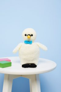 Crochet Now 39 - Take a look inside the latest issue of Crochet Now! - image Alison-Holloway-Topsy-Turvy-Ugly-Duckling-Cygnet-DK-3-200x300 on https://knitting-crocheting-yarn.com
