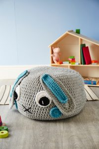 Crochet Now 39 - Take a look inside the latest issue of Crochet Now! - image Samanta-Fornino-Giant-Bunny-Pouffe-Cygnet-Serioulsy-Chunky-1-200x300 on https://knitting-crocheting-yarn.com