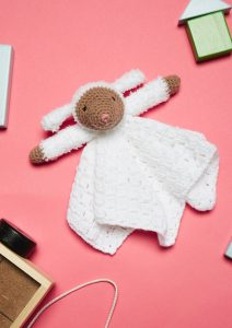 Crochet Now 39 - Take a look inside the latest issue of Crochet Now! - image Zoe-Potrac-Lovely-Little-Lamb-Sirdar-Snuggly-212x300 on https://knitting-crocheting-yarn.com