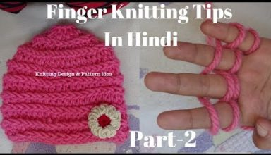 finger knitting Tips || cap design for kids & ladies topi bunai knitting pattern tips. - image 1556915691_hqdefault-384x220 on https://knitting-crocheting-yarn.com