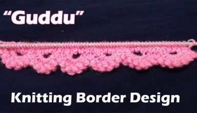 """Guddu"" Border design Beautiful Knitting pattern Design 2018 - image 1557532633_maxresdefault-384x220 on https://knitting-crocheting-yarn.com"