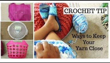 Crochet Tip for Beginners -How to Store Yarn - image 1558472617_hqdefault-384x220 on https://knitting-crocheting-yarn.com