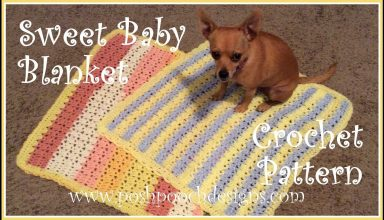 Sweet Baby Blanket Crochet Pattern - image 1558658486_maxresdefault-384x220 on https://knitting-crocheting-yarn.com