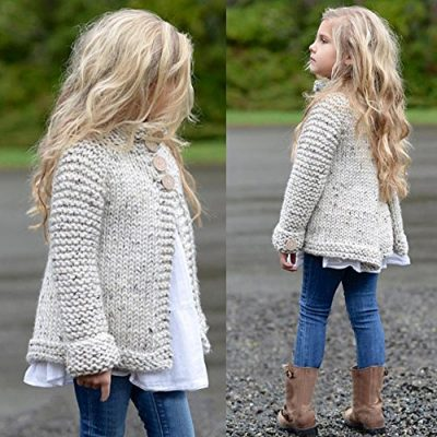 Kobay Baby Girl Outerwear Toddler Kids Baby Girls Outfit Clothes Button Knitted Sweater Cardigan Coat Tops Clothing for 1-8 Years - image 61-uE7iHwzL-400x400 on https://knitting-crocheting-yarn.com