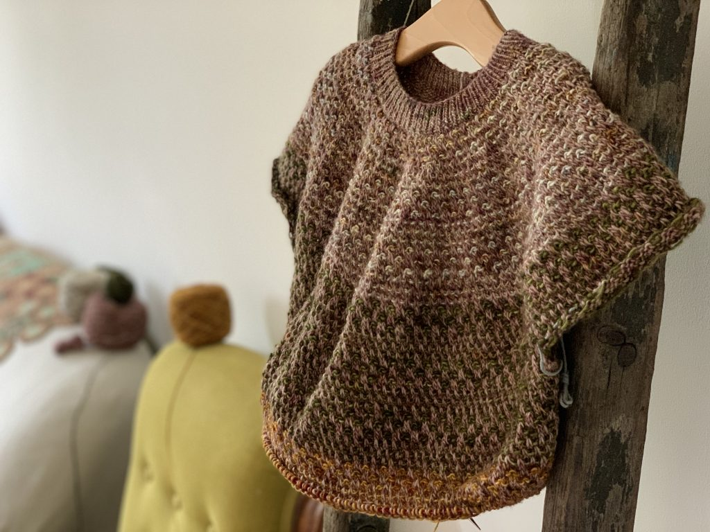 Bronte's Shifty Sweater in Madelinetosh at Loop London 1
