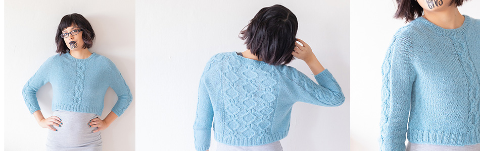 Pattern Round Up – March 2019 - image Cropped-Jumper on https://knitting-crocheting-yarn.com