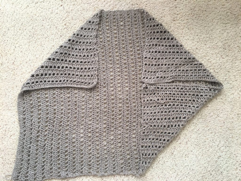 How To Crochet An Easy Summer Shrug – Mama In A Stitch - image Shrug-2-1024x768 on https://knitting-crocheting-yarn.com