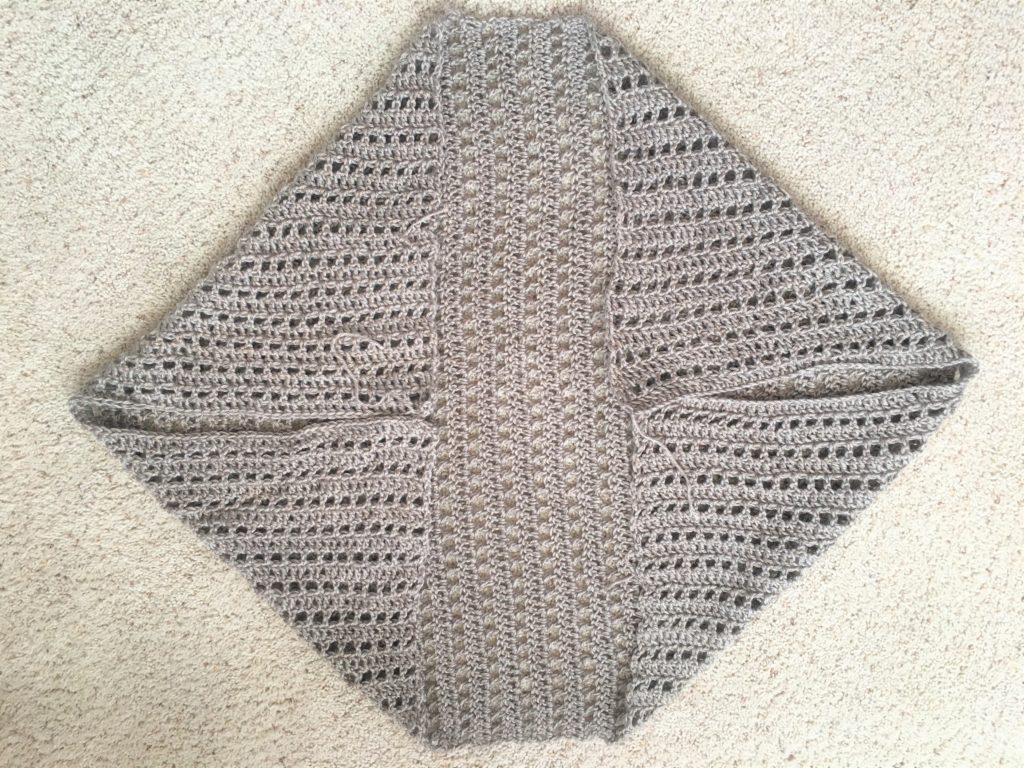 How To Crochet An Easy Summer Shrug – Mama In A Stitch - image Shrug-3-1024x768 on https://knitting-crocheting-yarn.com