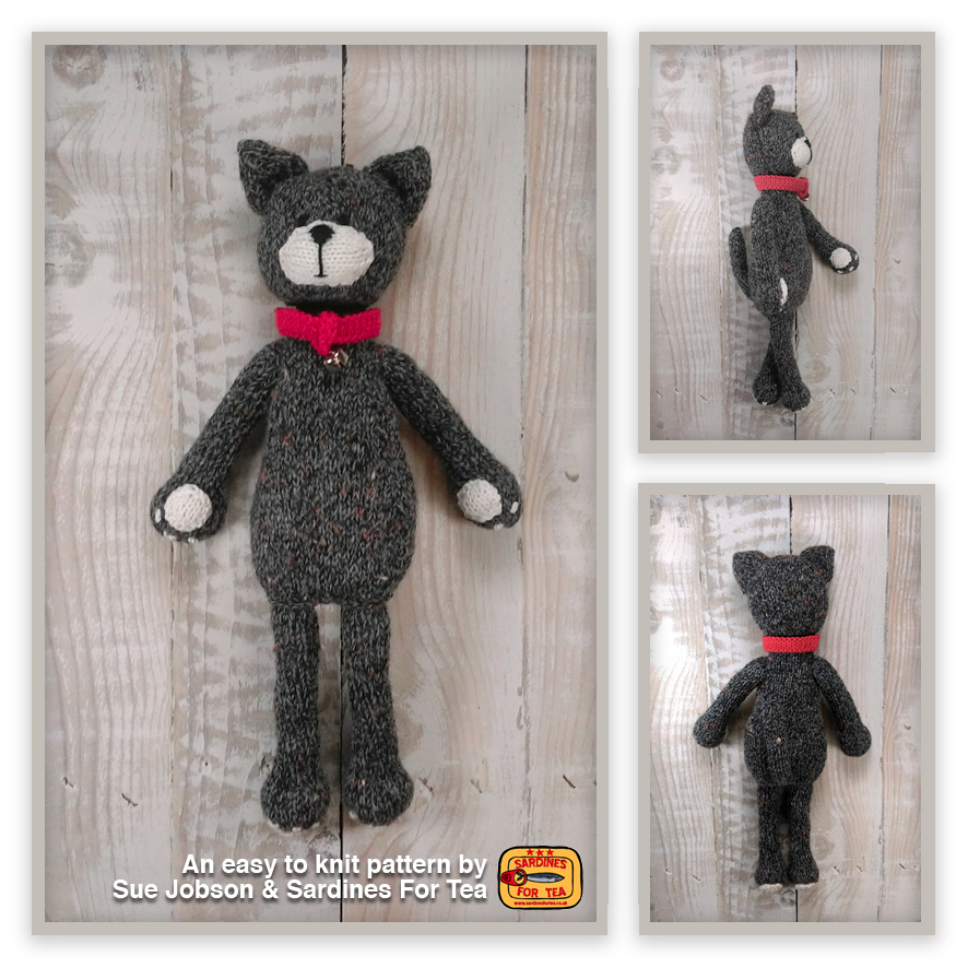 Margot the Cat | Toy Knitting Top Tips