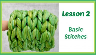 Arm Knitting Lesson 2 - Basic Stitches and Tips - image 1563142681_maxresdefault-384x220 on https://knitting-crocheting-yarn.com