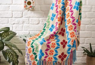 Crochet Now 41 - Crochet Now - image SCM85.GardenRug.Main_-320x220 on https://knitting-crocheting-yarn.com