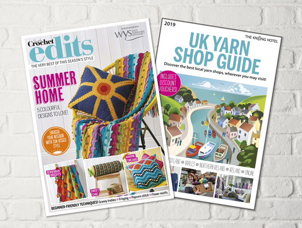 Simply Crochet issue 86 booklets