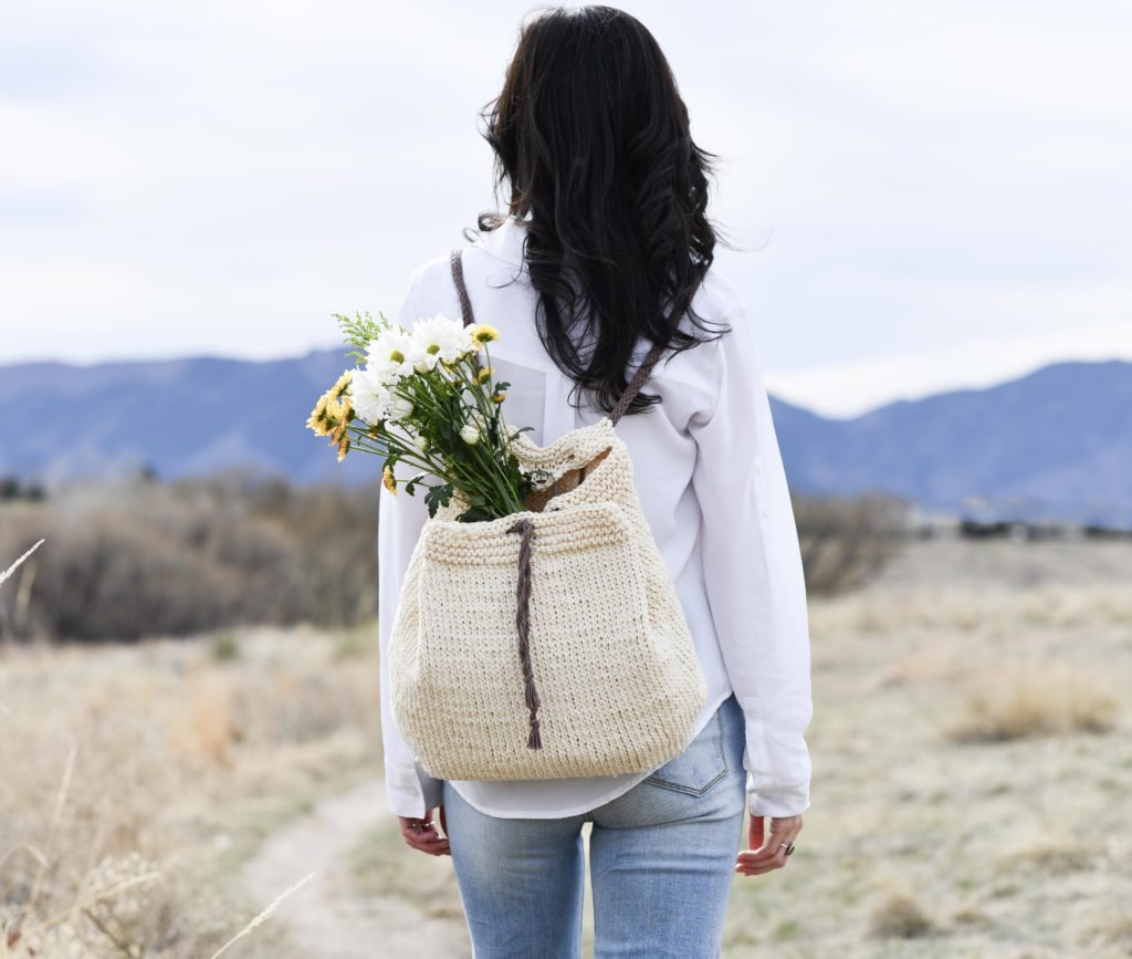 How To Knit A Backpack - image Straw-Knit-Backpack-Easy-Pattern-7-1024x867 on https://knitting-crocheting-yarn.com