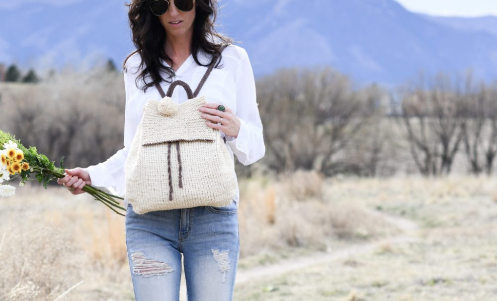 How To Knit A Backpack - image Strw-Knit-Backpack-Easy-Pattern-3-1024x620 on https://knitting-crocheting-yarn.com