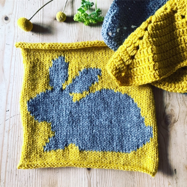 Where have you been, Old Bean? • Emma Varnam's blog - image bunnyblanket on https://knitting-crocheting-yarn.com