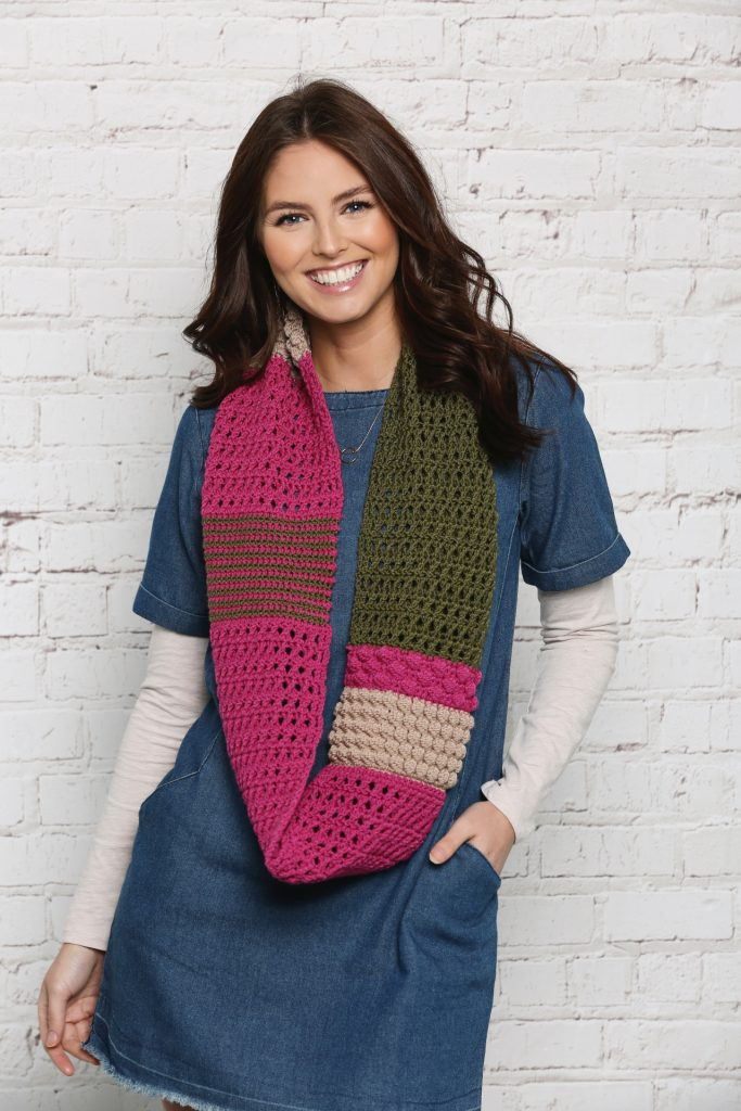 Get Creative with Stylecraft: The Winners! - image infinity-scarf-683x1024 on https://knitting-crocheting-yarn.com