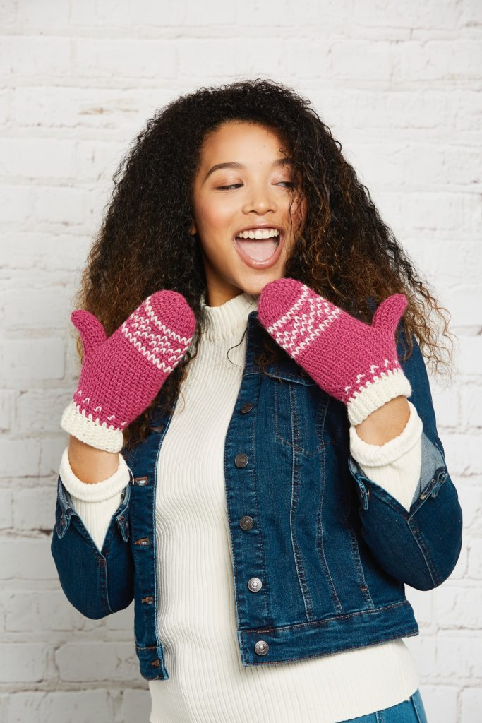 Get Creative with Stylecraft: The Winners! - image mittens-683x1024 on https://knitting-crocheting-yarn.com