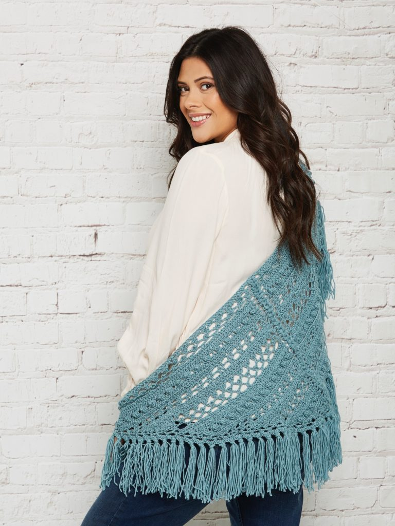 Get Creative with Stylecraft: The Winners! - image shawlette-768x1024 on https://knitting-crocheting-yarn.com