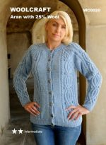 Double Knitting DK Pattern for Baby Long Sleeved Cardigan & Sweater Ribbed Detail (UKHKA 80) - image 51Xp62itmrL-150x205 on https://knitting-crocheting-yarn.com