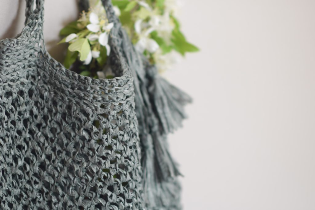 How To Crochet A Summer Circle Bag - image Crocheted-Market-Bag-Pattern-Palmetto-1-1024x683 on https://knitting-crocheting-yarn.com