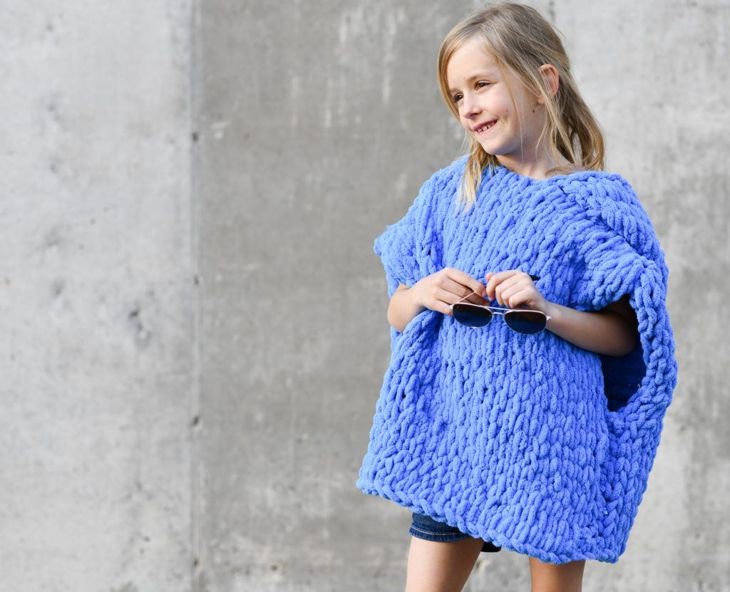 How To Make A Hooded Beach Cover-Up Poncho with Loop Yarn - image Beach-Hooded-Cover-Up-Loop-Yarn-Pattern-4-1024x831 on https://knitting-crocheting-yarn.com