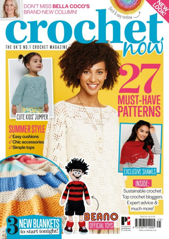 Don't miss the new Crochet Now - image CN45-COVER-724x1024 on https://knitting-crocheting-yarn.com