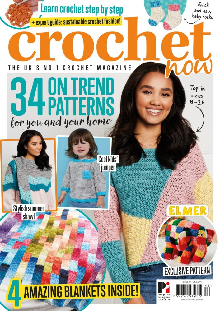 Take a look inside our new look issue! - image COVER on https://knitting-crocheting-yarn.com