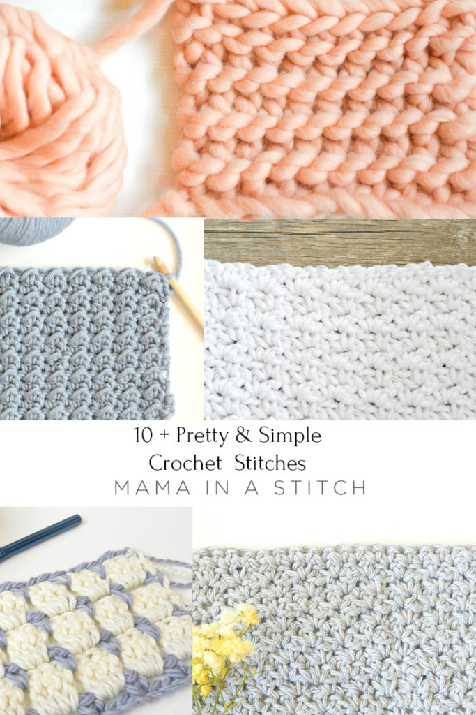 Pretty & Simple Crochet Stitches To Try - image Easy-Crochet-Stitches-Free-Patterns-for-Beginners-683x1024 on https://knitting-crocheting-yarn.com