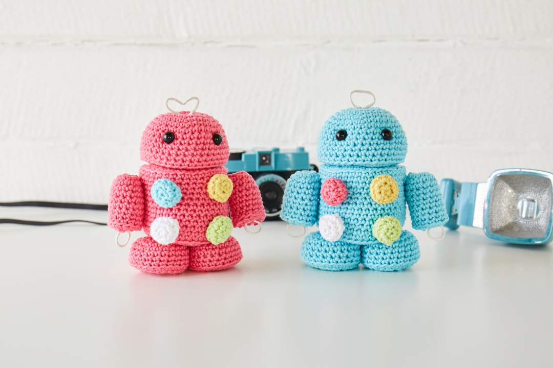 Take a look inside our new look issue! - image Sachiyo-Ishii-Retro-Robots-Sirdar-Happy-Cotton-2 on https://knitting-crocheting-yarn.com