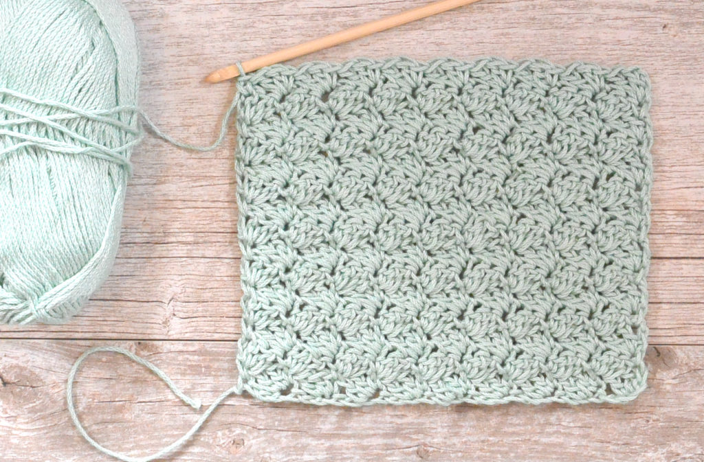 Pretty & Simple Crochet Stitches To Try - image blanket-stitch-7-1024x673 on https://knitting-crocheting-yarn.com