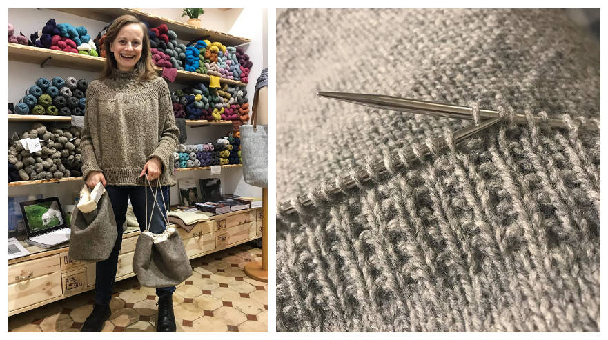 Interview – Christine: The Story Behind Rauwerk - image on https://knitting-crocheting-yarn.com
