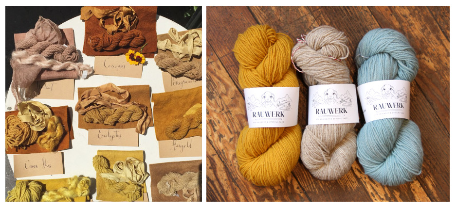 Natural Dyes Explained | YAK - image on https://knitting-crocheting-yarn.com
