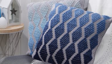 Design your own blanket with Crochet Now, King Cole & Deramores! - image Simply_Crochet_issue88_Cushions-384x220 on https://knitting-crocheting-yarn.com