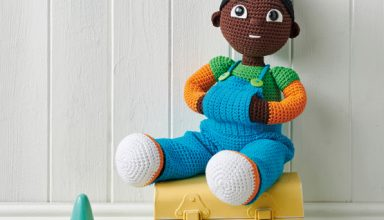 Design your own blanket with Crochet Now, King Cole & Deramores! - image Simply_Crochet_issue89_Malik_Doll-384x220 on https://knitting-crocheting-yarn.com