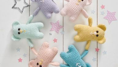 Win Tickets to The Knitting & Stitching Show in Harrogate - image Simply_Crochet_issue89_bears-384x220 on https://knitting-crocheting-yarn.com