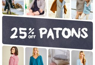 Knitting Pattern for Cardigan - image patons-discount-collage-320x220 on https://knitting-crocheting-yarn.com