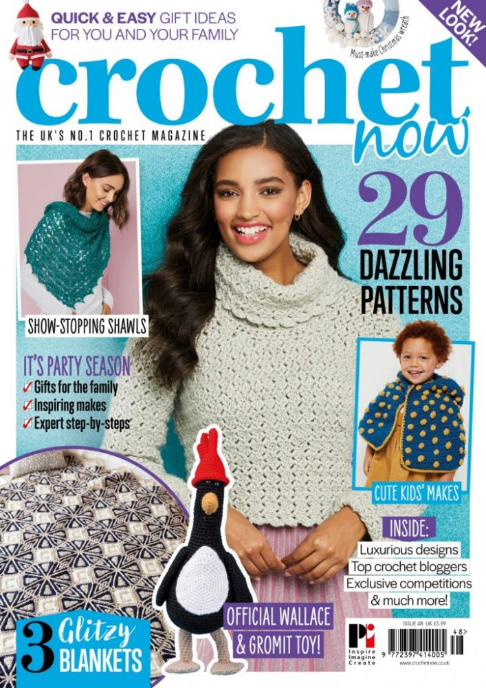 Crochet Now Magazine- new issue 48 on sale this week - image CN48-COVER-724x1024 on https://knitting-crocheting-yarn.com