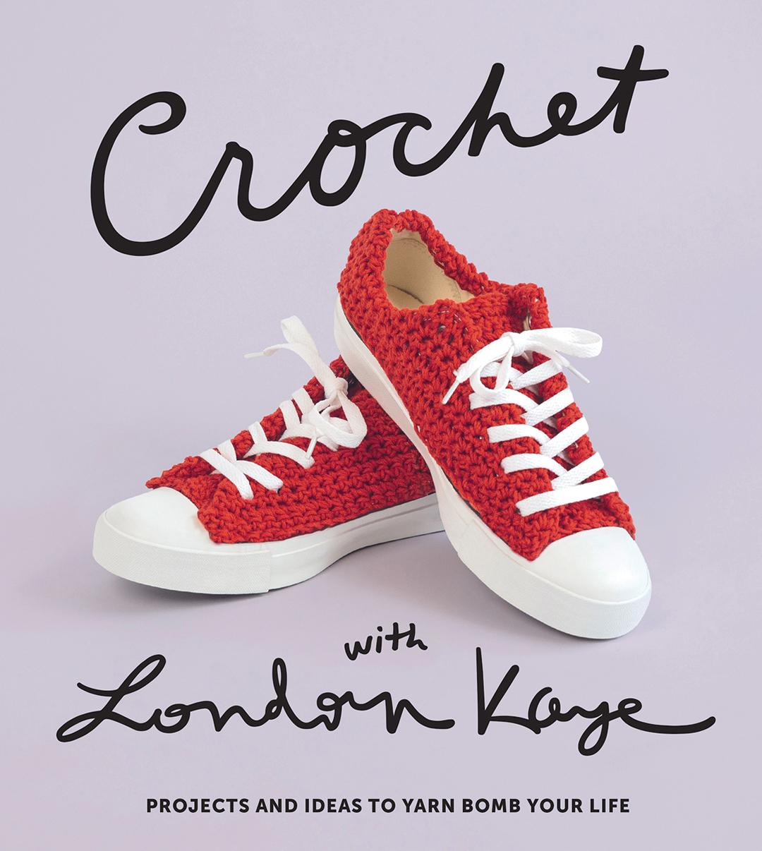 Crochet with London Kaye book