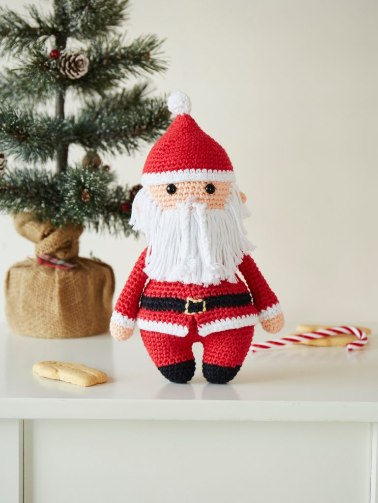 Crochet Now Magazine- new issue 48 on sale this week - image Kate-McCully-Father-Christmas-DROPS-Paris-769x1024 on https://knitting-crocheting-yarn.com