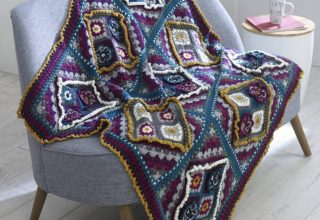 Knit and Stitch Blog from Black Sheep Wools » Blog Archive Sara Interviews Winwick Mum - image King-Cole-CAL-Flowers-In-The-Window-Blanket-e1574931519784-944x1024-320x220 on https://knitting-crocheting-yarn.com